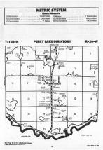 Perry Lake T136N-R26W, Crow Wing County 1988